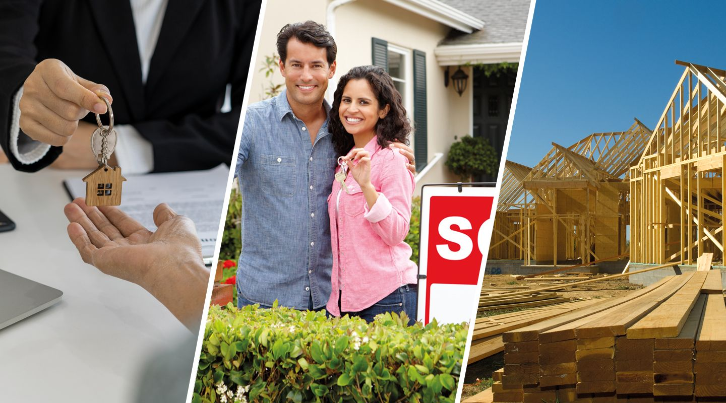 Is it better to rent, buy or build a home?